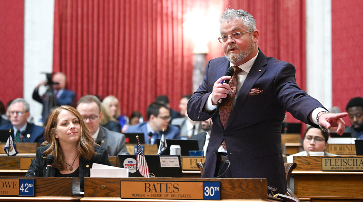 Mick Bates Addresses the House of Representatives